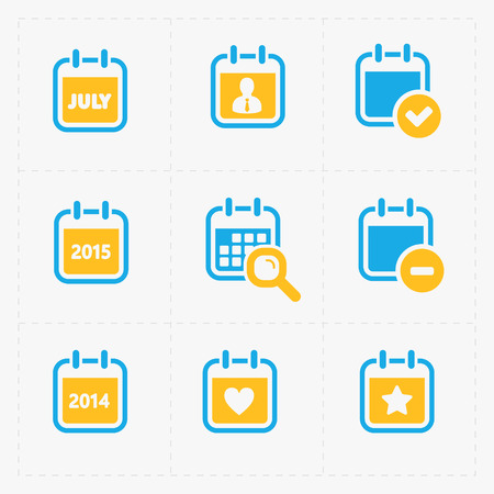 calendar icons: Vector Calendar Icons