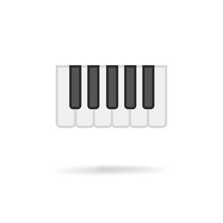 octave: Octave, piano keys icon