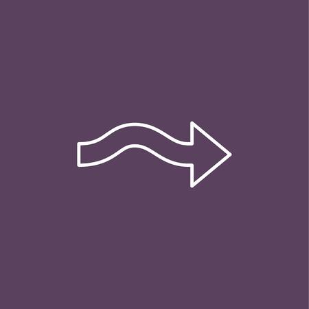 universal arrow icon