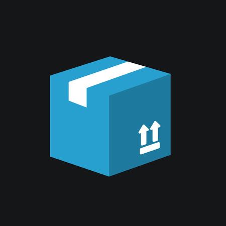 shipped: Carton Package Box icon