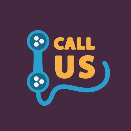 Bel ons pictogram.