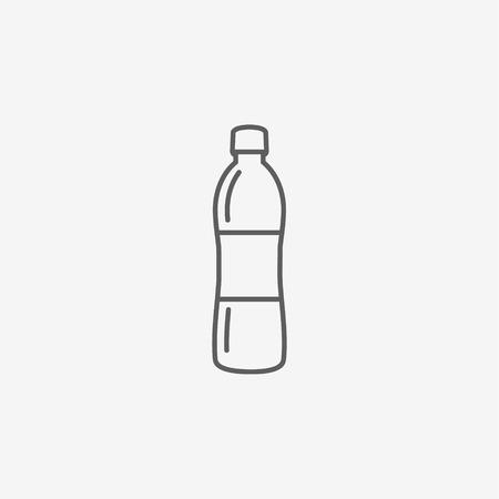 nonalcoholic: Bottle water Icon