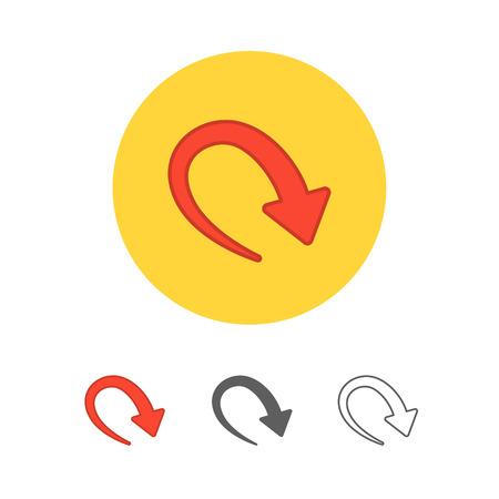 new arrow: new arrow icon