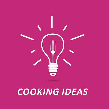 vector symbol: Cooking ideas vector symbol