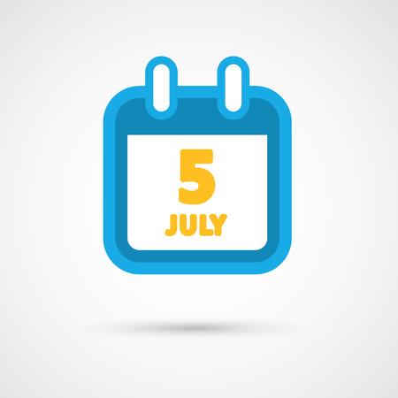 date: Vector Calendar Icon - date Illustration