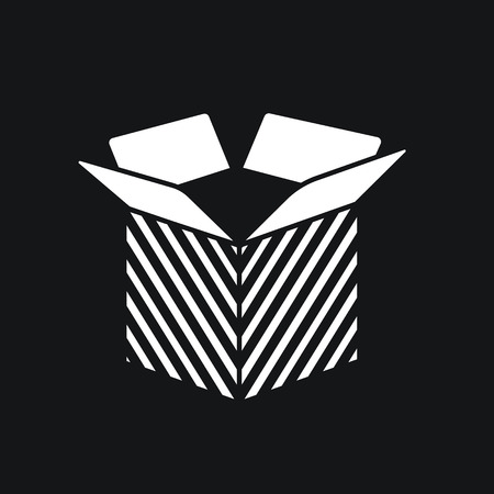 work crate: Carton opened Package Box icon