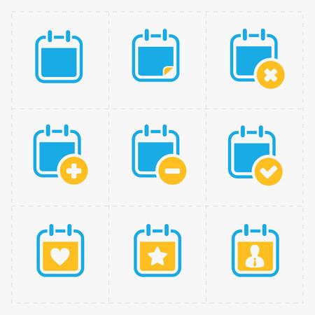 calender icon: Vector Calendar Icons