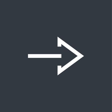 upward movements: modern arrow icon
