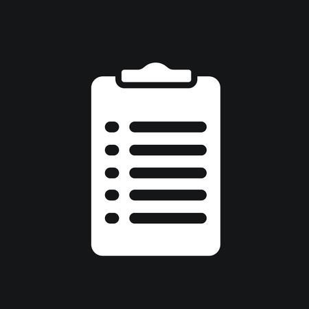 forms: Clipboard icon with form.
