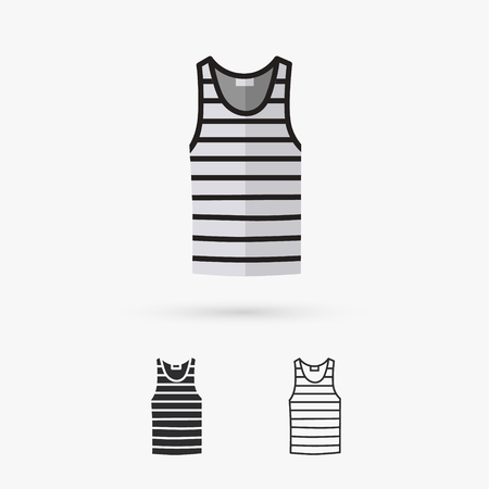 singlet: Blank singlet template - front and back