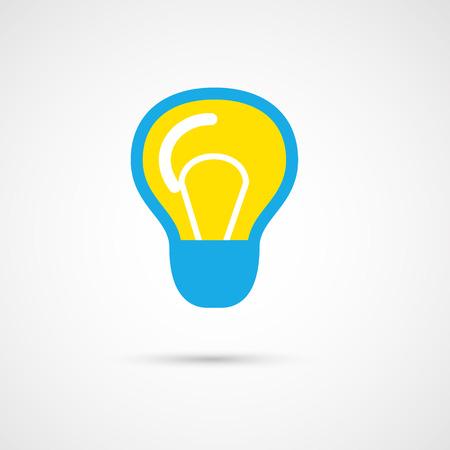 single color: Single color Light bulb.