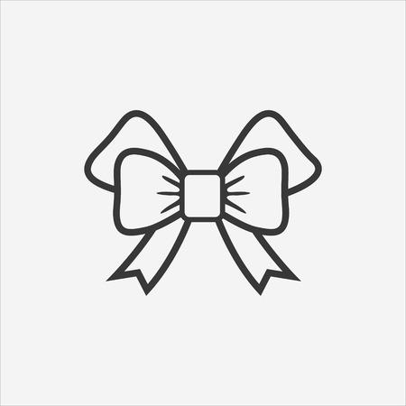 festive: festive bow icon.