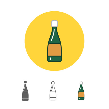 uncorked: bottle of champagne