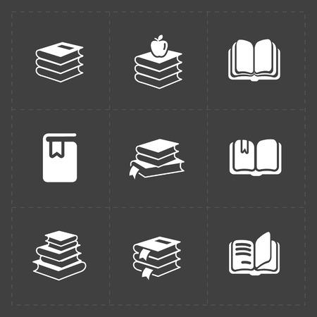 electronic publishing: Modern Web Books set on Dark.
