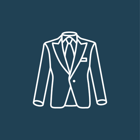 formalwear: Suit icon