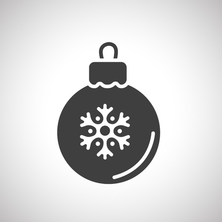 baubles: Christmas baubles. Vector illustration Illustration
