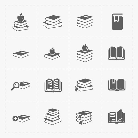 electronic publishing: Modern Web Books set on White.