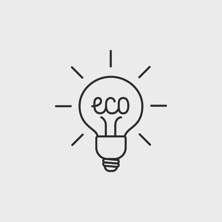 overuse: Green ecology bulb