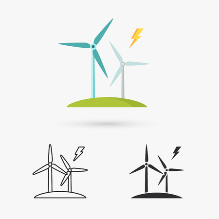 windfarm: Windmills for electric power production