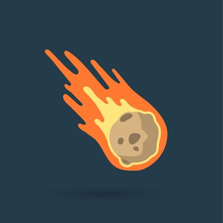 disaster: Flame meteorite