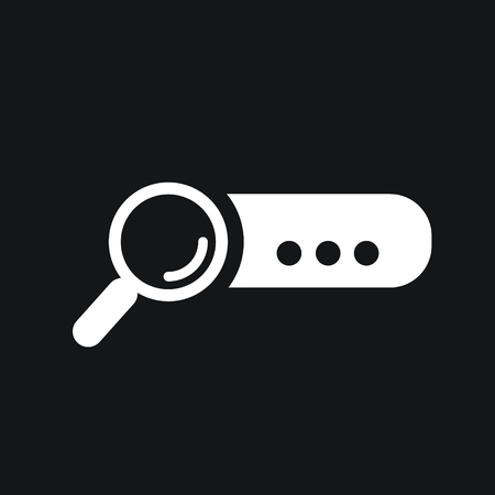 finding: Search bar Icon.