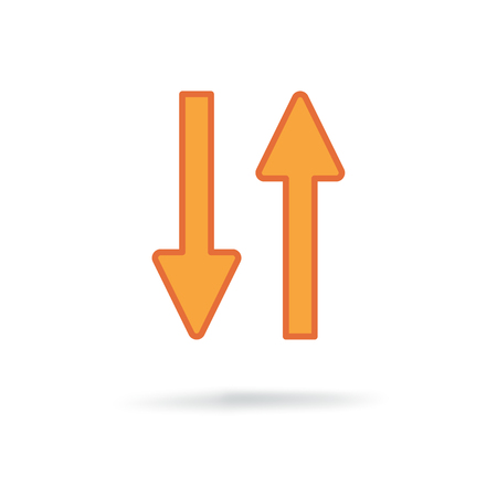 new universal arrow Illustration