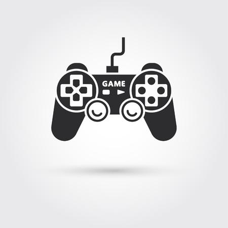 Joystick game control vector illustration.