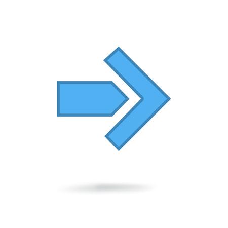 symbolics: modern arrow icon