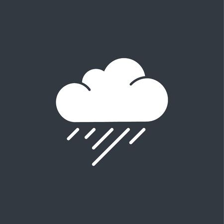 drench: Rain Cloud Vector Illustration