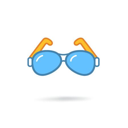 Glasses modern icon Illustration