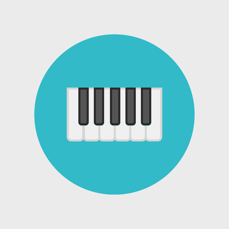 octave: Octave, piano keys icon