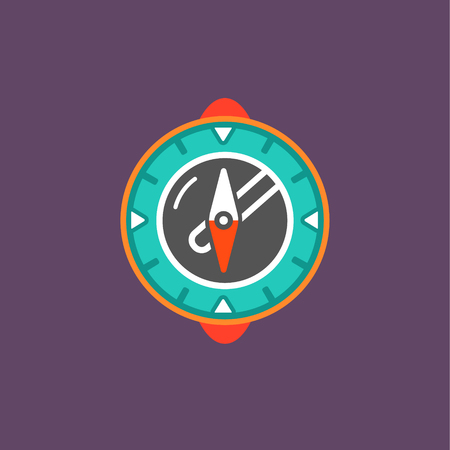 Compass modern icon