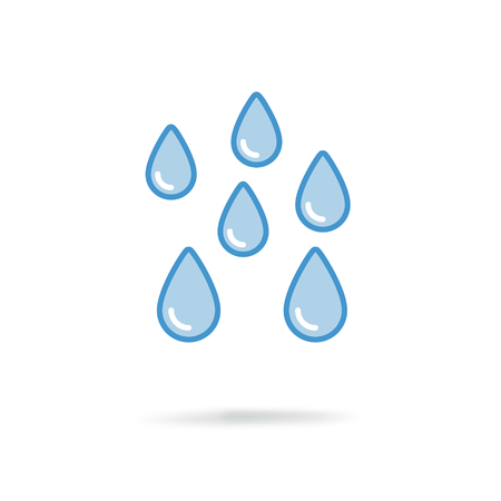drinkable: water drops icon