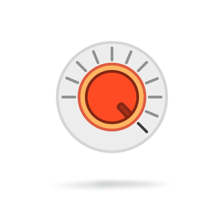 volume knob: Volume button icon Illustration