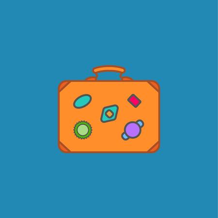 Luggage symbol icon