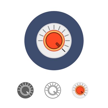 volume knob: volume button icon