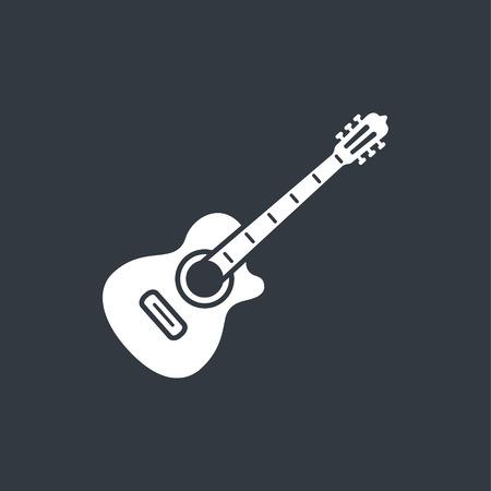 guitar pick: acoustic guitar icon