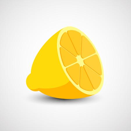 tangerine: Vector lemon