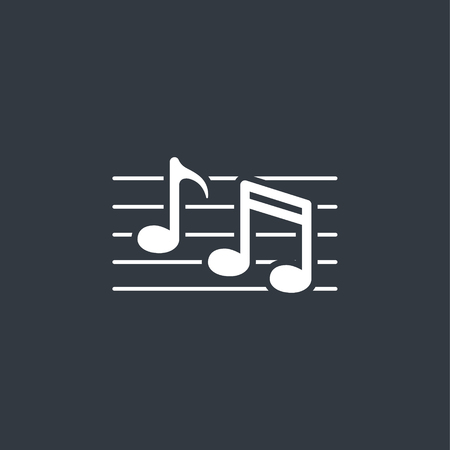 symbolics: Music note icon