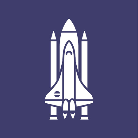spaceflight: Space shuttle icon