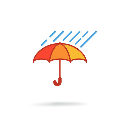 Colored rain accessory