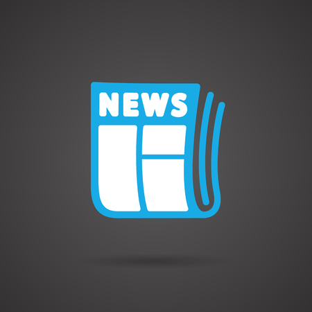 Vector Media Icon - Newspapar