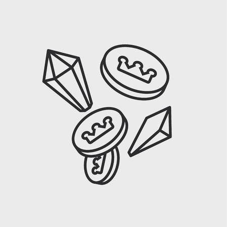 pictogram van de schatelementen