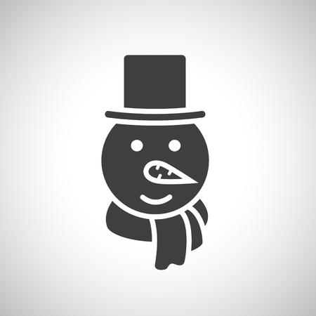 Sneeuwman icoon
