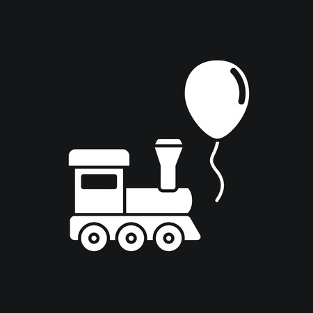 Train and balloon toys