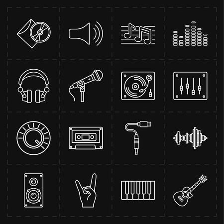 Universele muziek iconen