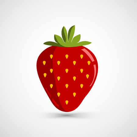 Strawberry vector illustration  イラスト・ベクター素材