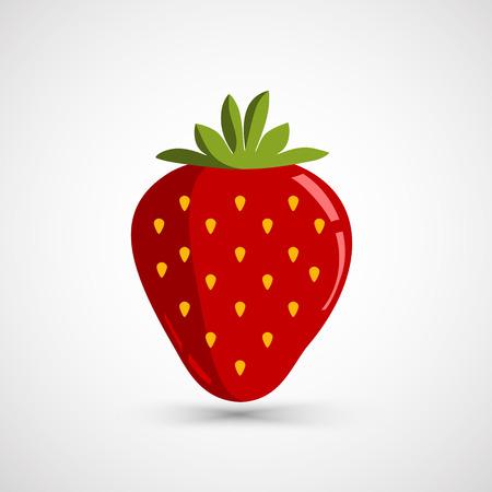 Strawberry vector illustratie