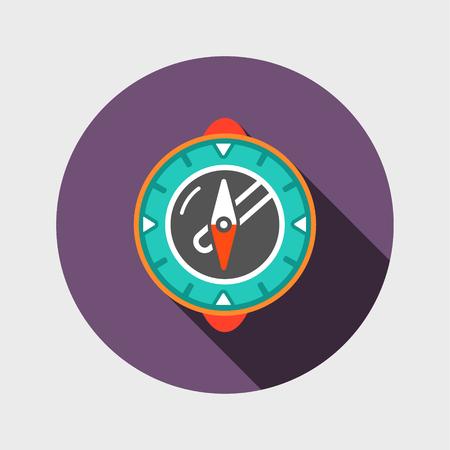 Compass modern icoon