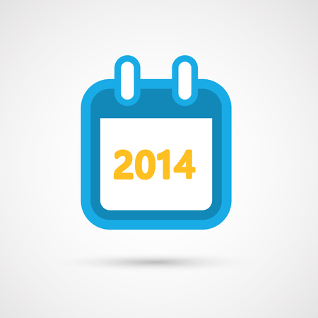Vector Kalender Icon 2014